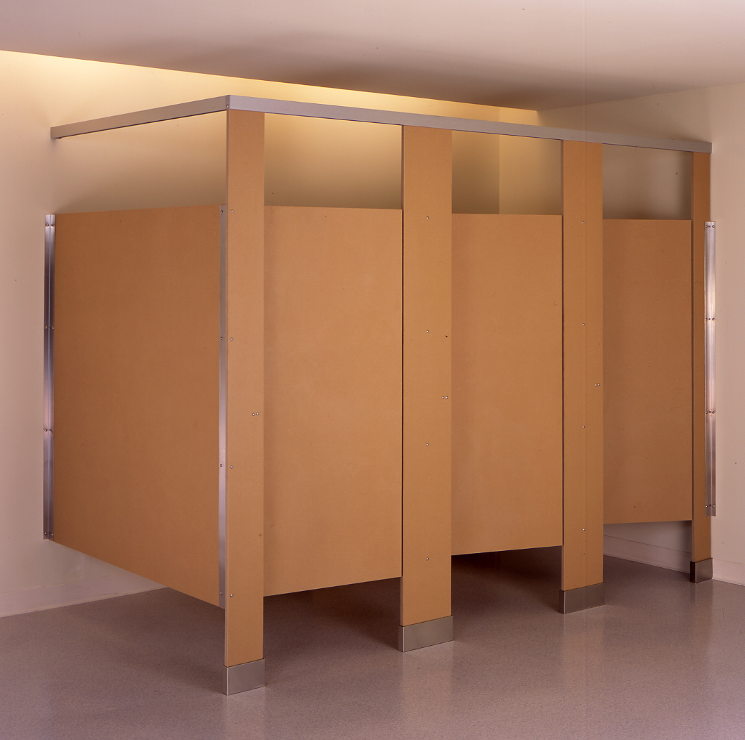 A - Custom bathroom partitions